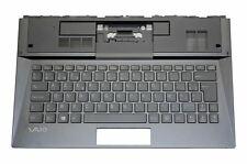 New Sony Vaio SVD1321 SVD1322 Palmrest Cover Backlit Belgian KeyboardA1951627A