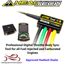 Healtech eSync Digital Throttle Body Sync Tool Fuel Injected/ Carbureted Engines