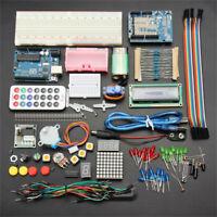 102Pcs Ultimate Arduino Starter Learn Kit For UNO R3 1602 Servo Motor LCD