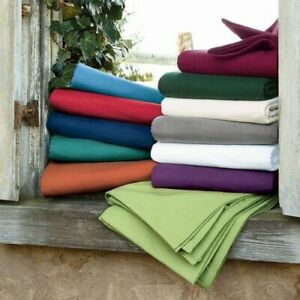 1000 TC Soft Egyptian Cotton 1 PC Wrap around Bed Skirt King Size & Colors