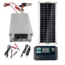 200W Solar Panel Kit 12V to 220V Battery Charger RV Travel Trailer Camper Van