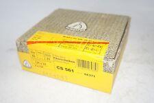 25 New Klingspor 5 X 78 Hole Cs 561 Fibre Sanding Discs 50 Grit Art 66371
