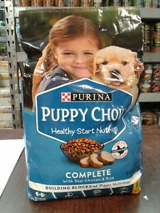 Purina Puppy Chow Complete Nutrition Formula Dry Dog Food 4.4 lbs EXP:08/2021