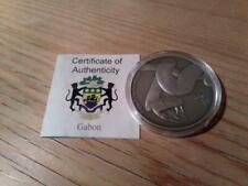 Gabun 1000 Francs 2013 Antique Finish - Schlange - Silber 1oz - Africa Ounce