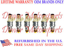 FITS 1992-1993 DODGE W150 Fuel Injector Set of 6 OEM BOSCH