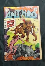 Anthro  Issues #1, 4, 5  12 cents cover price  Three books!!
