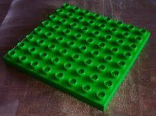 Lego Duplo Platte h-grün 8x8 Grundplatte f. Haus Zoo Eisenbahn Bauernhof au 4665