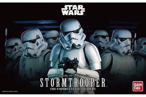 Star Wars Plastic Model Kit 1/12 STORMTROOPER Bandai Japan NEW **