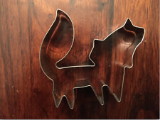 FOX STAINLESS STEEL COOKIE CUTTER MOLD FONDANT FOREST BIRHDAY DECORATING TOOL