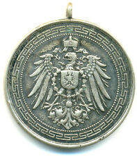 Preussen, Wilhelm II., versilb. Medaille o. J.