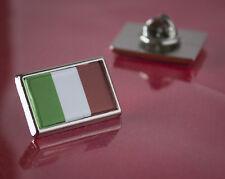 Italy Italian Flag Pin/Lapel Badge