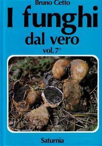 I funghi dal vero. Vol. 7 - Cetto Bruno