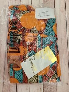 NEW LuLaRoe TC Disney Leggings Aztec Orange Mickey Mouse