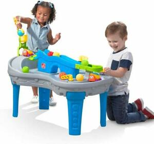 Step2 Ball Buddies Truckin' & Rollin' Play Table, STEM & Ball Toy Kids Toddlers