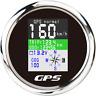 85mm Car Boat Digital GPS Speedometer Odometer Voltmeter Speed Gauge Waterproof