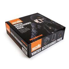 Mens SCRUFFS WARM WINTER PACK KNIT Gloves HAT & Scarf Work Wear Vat Receipt NEW