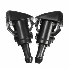 2x Front Windshield Washer Nozzle For Chrysler 300 Dodge Ram 1500 2500 2005-2013