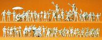 Preiser 16342 H0 Volksfestbesucher / Schausteller, 60 unbemalte Figuren, Bausatz