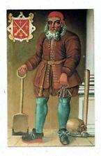 POST CARD COLOUR PHOTO OF ROBERT SCARLETT GRAVE DIGGER