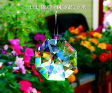 Swarovski Crystal Brilliant 60mm Clear Lily Octagon Sun Catcher Rainbow Maker