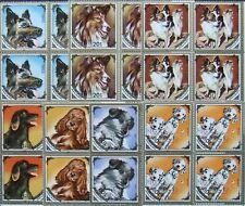 Mongolia,Dogs,4x7 stamps, MNH,. MG 051