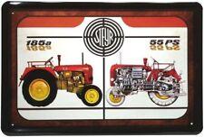 Blechschild 20x30 STEYR 185 a 55 PS Traktor Bulldog Werbung Metall Schild