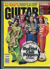 Guitar  Aug. 2002  Red Hot Chili Peppers Beatles  Van Halen  P.O.D.  MBX89