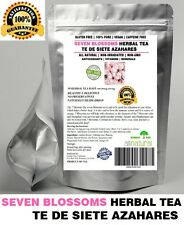30 Tea Bags SEVEN BLOSSOMS HERBAL TEA - TE DE SIETE AZAHARES,Resealable Pouch