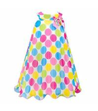 BONNIE JEAN® Little Girl's 4 Polka Dot Crystal Pleat Dress NWT $65