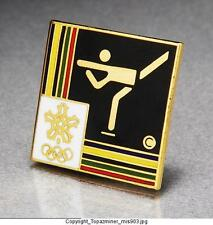 OLYMPIC PINS 1988 CALGAR Y SPORT EVENT PICTOGRAM ICON -  FIGURE SKATING (OLD!)
