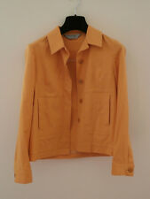 sportmax women bright orange summer jacket