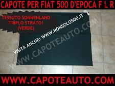 Capote cappotta Fiat 500 F L R colorata personalizzata personalizzabile Abarth