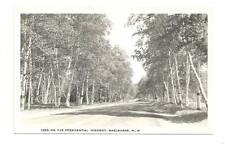 SHELBURNE NH On Presidential Highway Vtg B&W Postcard