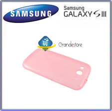 Custodia Cover ORIGINALE EFC-1G6WPECSTD SAMSUNG Galaxy S3 I9300 SIII rosa nuovo