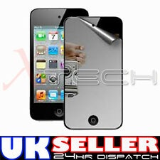 MIRROR Reflective LCD Screen Protector Guard for Apple iPod Touch 4 4G 4th Gen