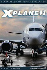 X Plane 11 Global Edition PC MAC LINUX 8 DVD set NEW!