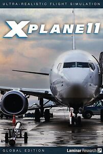 X Plane 11 Global Edition PC MAC LINUX 8 DVD set NEW!