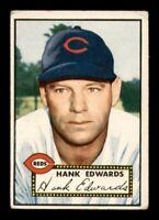 1952 Topps Set Break #176 Hank Edwards VG *OBGcards*