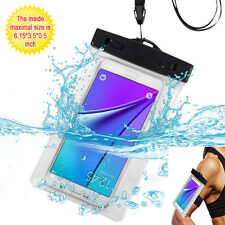 Universal Waterproof Case Bag for iPhone 6 6plus Samsung note 7 S7 on5
