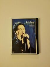 K.D. Lang - Live by Request (DVD, 2001)