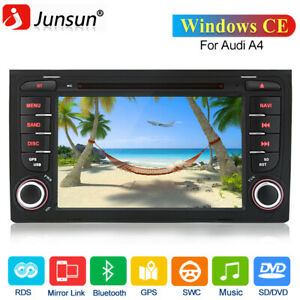 """For Audi A4 S4 RS4 SEAT EXEO 7"""" Car Radio Stereo DVD GPS Sat Nav Bluetooth DAB+"""