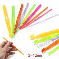 garnen multi - farbe plastik häkeln haken weben handwerk stricken nadeln
