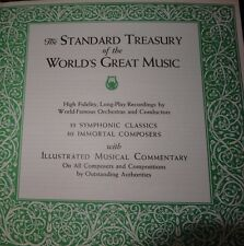 The Standard Treasury of the Worlds Great Music Rocords High Fidelity Long-Play
