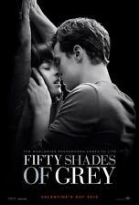 "FIFTY SHADES OF GREY 11""x17"" Original Promo Movie Poster MINT 2015 Jamie Dornan"