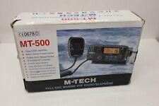 M-Tech MT500 Marine VHF Radio