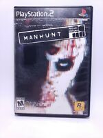 Manhunt 1 (Sony PlayStation 2, PS2, 2003, Rockstar) No Manual - Good Condition