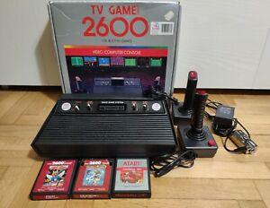 TV Game Clone Atari 2600 128 giochi integrati COME NUOVO + 3 giochi