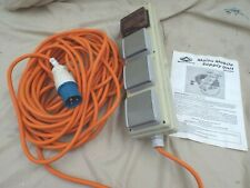 SUNNCAMP HEAVY DUTY 20 MTR SUPPLY TO CAMP,MAINS CONNECTION LEAD AND SUPPLY UNIT