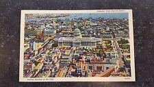 Vintage Postcard Havana Cuba A Partial Airview of the City