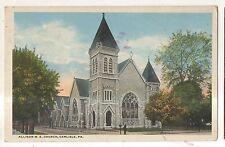 Allison Methodist Church CARLISLE PA Vintage Cumberland County Postcard